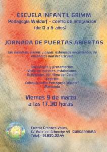 JORNADA DE PUERTAS ABIERTAS 2018